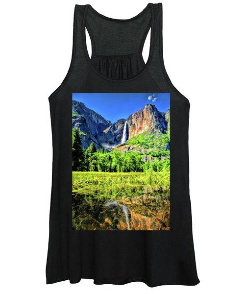 Yosemite National Park Bridalveil Fall Women's Tank Top