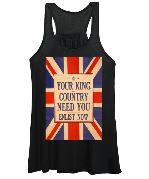 Your King And Country Need You Women's Tank Top