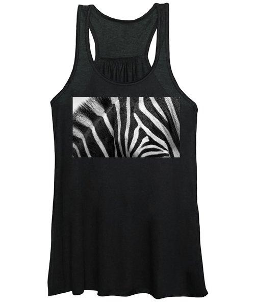 Zebra Stripes Women's Tank Top