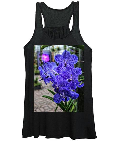 Deep Purple Orchid Women's Tank Top