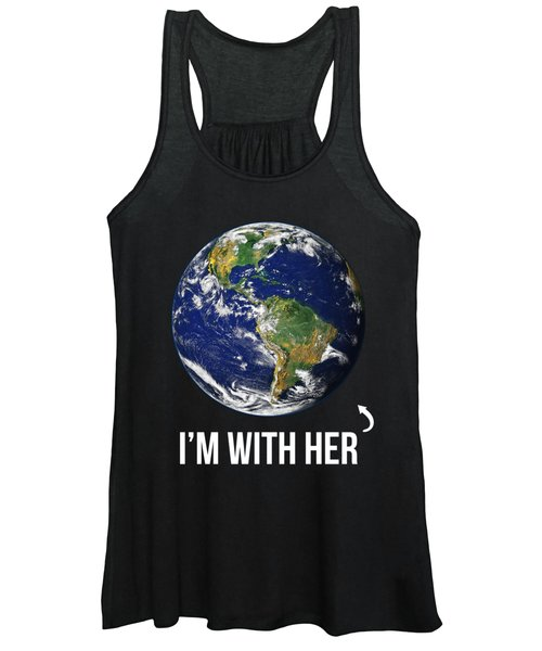 Im With Her Mother Earth Women's Tank Top