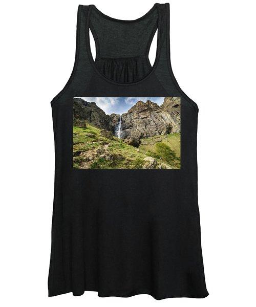 Raysko Praskalo Waterfall, Balkan Mountain Women's Tank Top