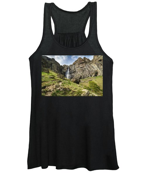 Raysko Praskalo Waterfall, Balkan Mountain Women's Tank Top