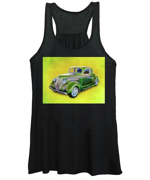1936 Green Ford Women's Tank Top