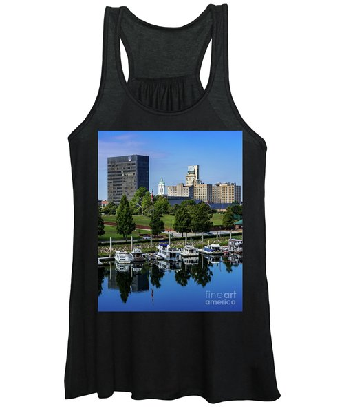 Augusta Ga - Savannah River Women's Tank Top