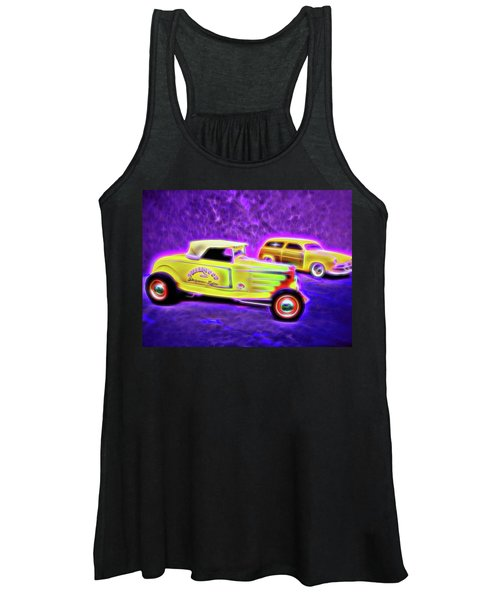 32 Roadster And 49 Woody Women's Tank Top
