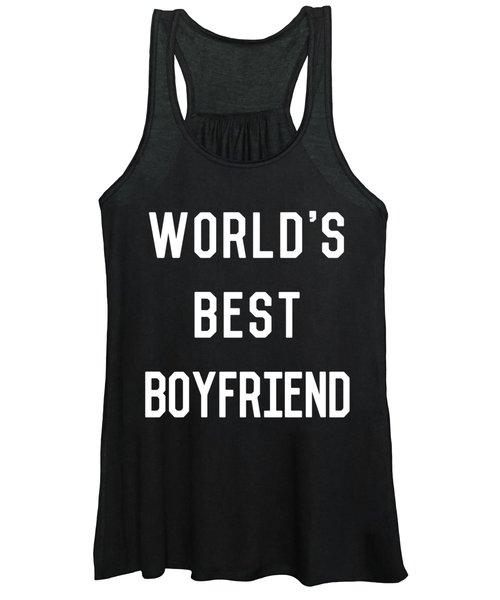 Worlds Best Boyfriend Women's Tank Top