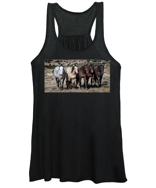 All In A Row Women's Tank Top