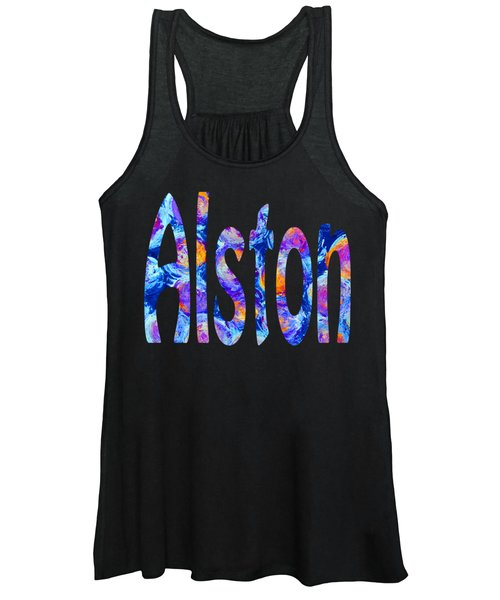 Women's Tank Top featuring the digital art Alston by Corinne Carroll
