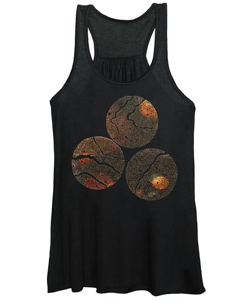 Atoms Ink Artwork Women's Tank Top