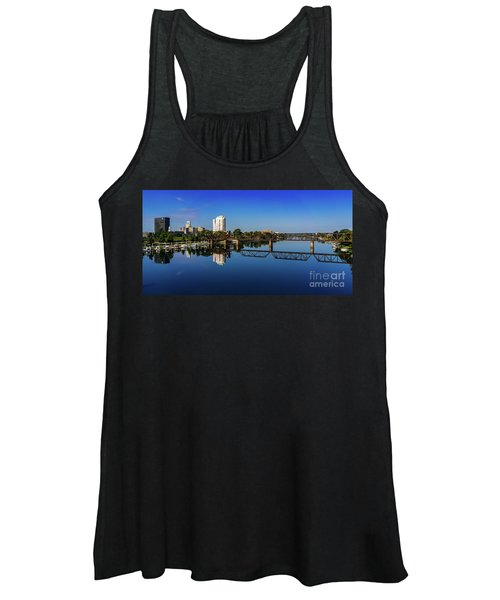Augusta Ga Savannah River Panorama Women's Tank Top