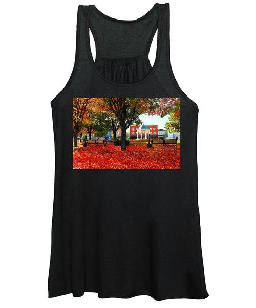 Autumn Main Street Women's Tank Top