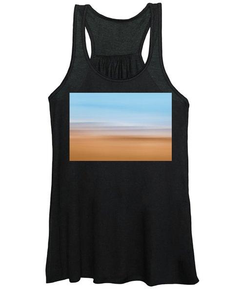 Beach Abstract Women's Tank Top