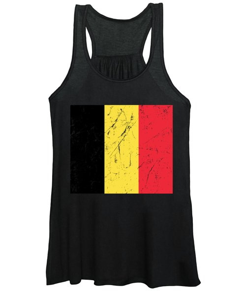 Belgium Flag Women's Tank Top