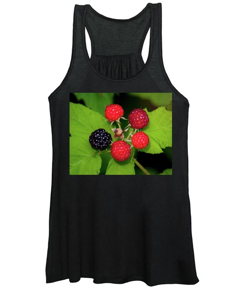 Blackberries Women's Tank Top