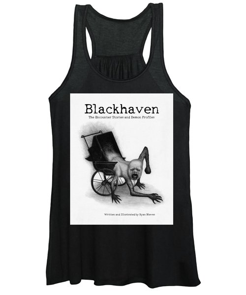 Blackhaven The Encounter Stories And Demon Profiles Bookcover, Shirts, And Other Products Women's Tank Top