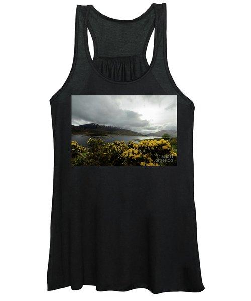 Buttercream Solitude Women's Tank Top