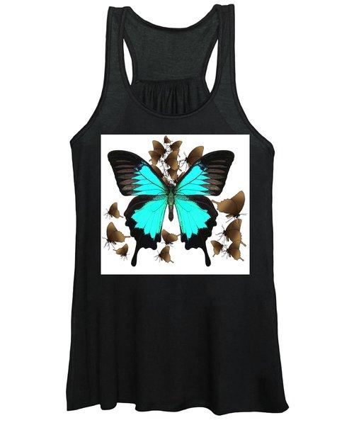 Ulysses Butterfly All A Flutter Women's Tank Top
