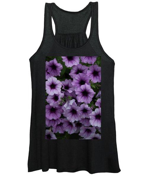 Cascade In Violet Women's Tank Top
