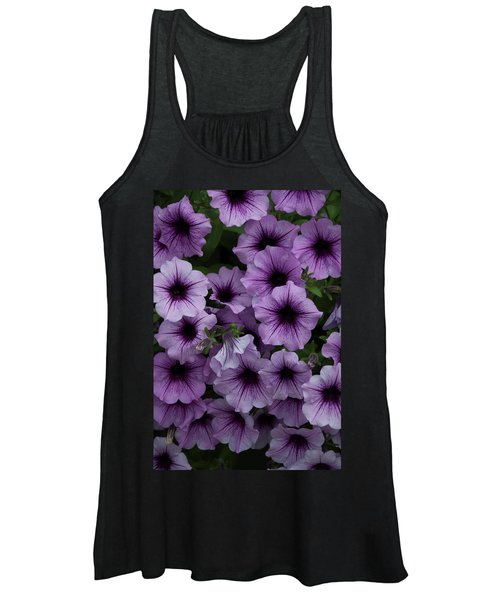 Cascade In Violet Women's Tank Top