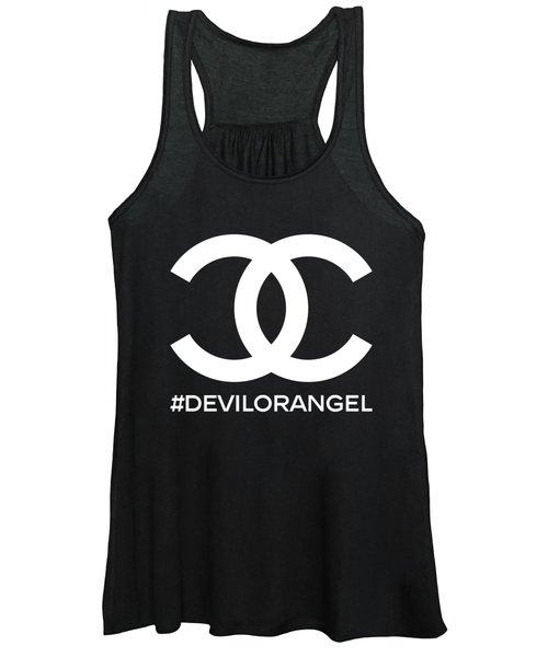 Chanel Devil Or Angel-2 Women's Tank Top