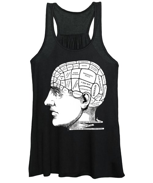 Chickens On My Mind Women's Tank Top