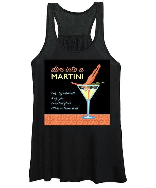 Classic Martini Women's Tank Top