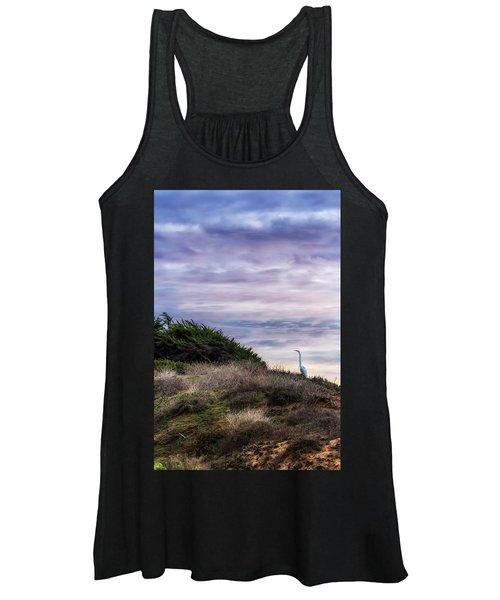 Cliffside Watcher Women's Tank Top