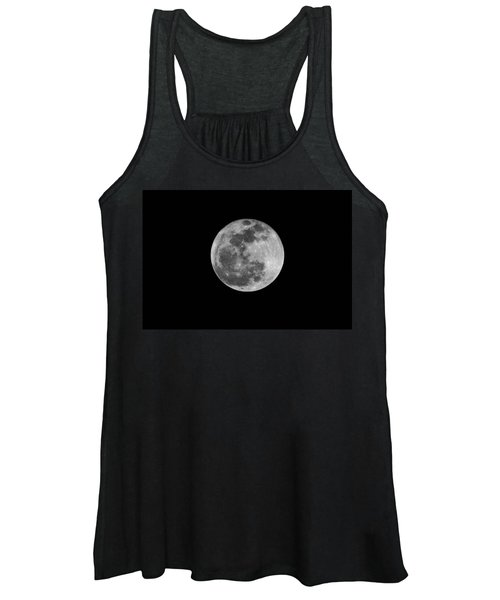 Full Cold Moon Women's Tank Top