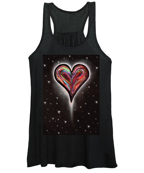 Colorful Total Eclipse Of The Heart 1 Women's Tank Top