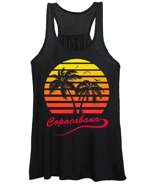 Copacabana Sunset Women's Tank Top