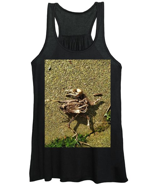 Death Shows Us We Are Nothing But Bones Women's Tank Top