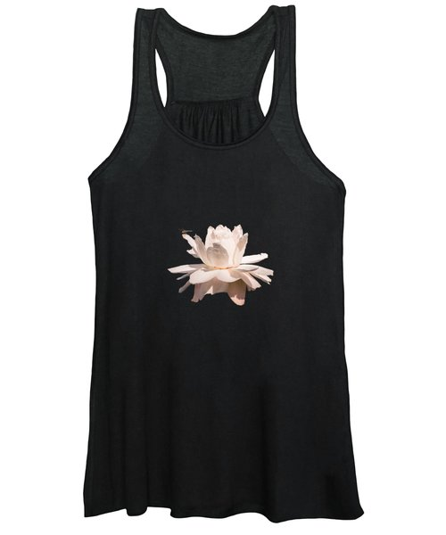 Dragonfly On Giant Victoria Cruziana Waterlily  Women's Tank Top