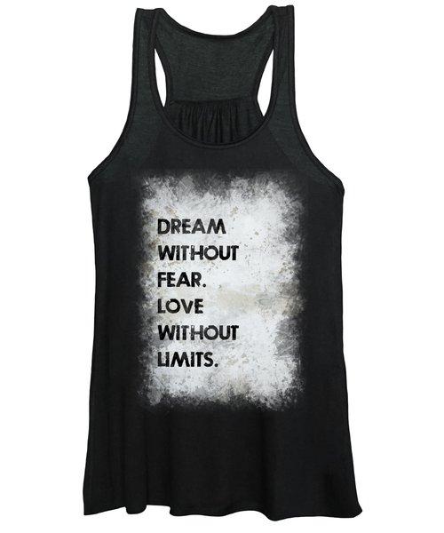 Dream Without Fear Women's Tank Top