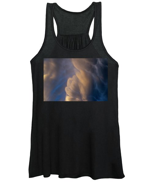 Dying Thunderstorms At Sunset 017 Women's Tank Top