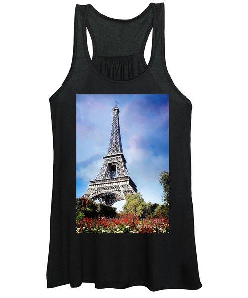 Eiffel Garden Women's Tank Top