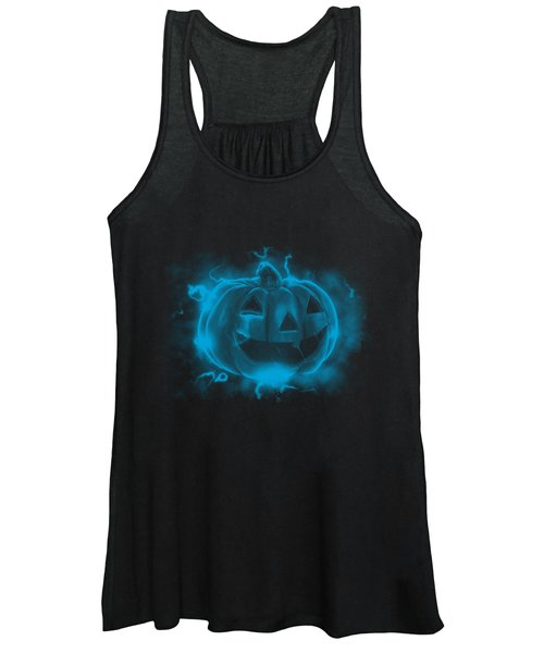 Electric Pumpkin Women's Tank Top
