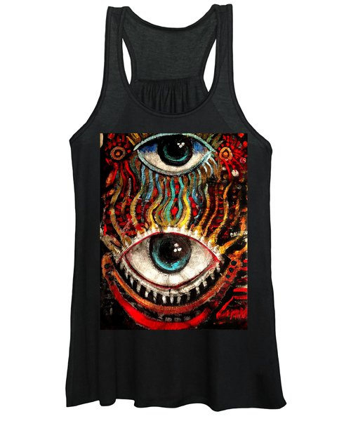 Eyes On You Women's Tank Top