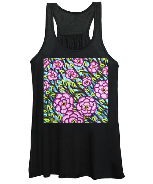Floral Whimsy 3 Women's Tank Top
