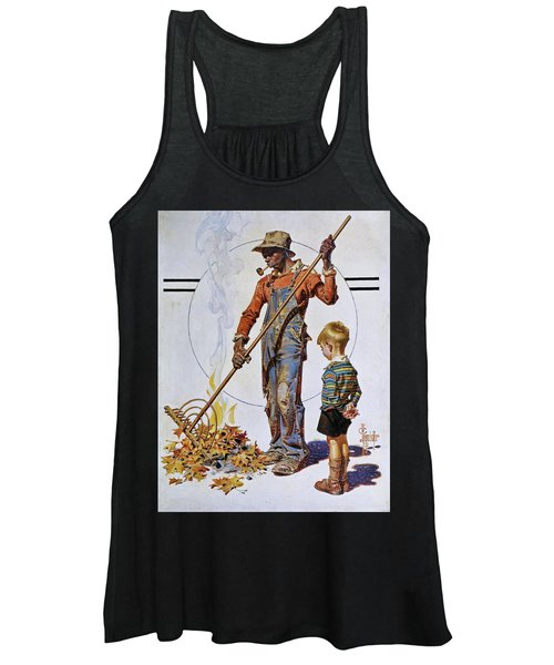 Gather Of Fallen Leaves - Digital Remastered Edition Women's Tank Top