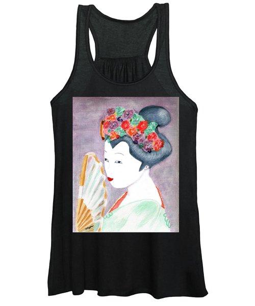 Geisha Women's Tank Top