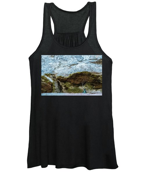 Green Buddha And The Flying Trapeze Women's Tank Top