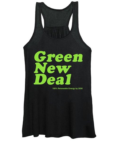 Green New Deal 2030 Women's Tank Top