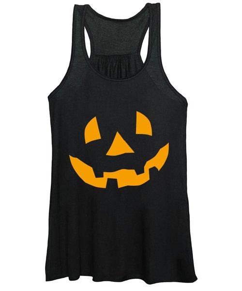 Halloween Pumpkin Tee Shirt Women's Tank Top