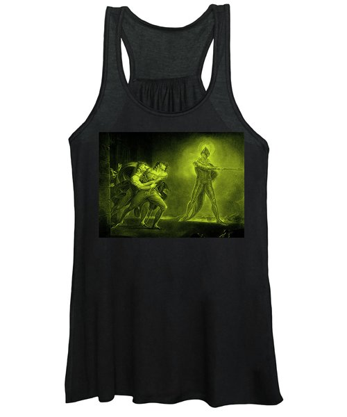 Hamlet And The Ghost Of His Father Women's Tank Top