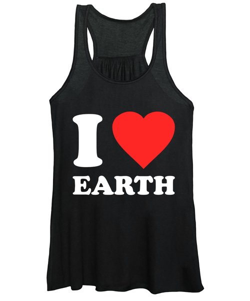 I Love Earth Women's Tank Top