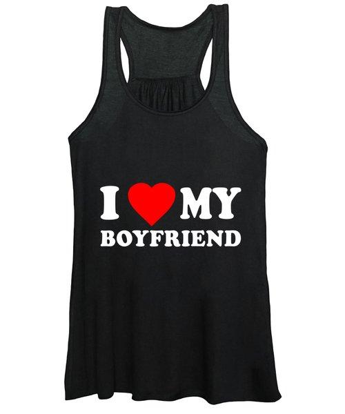 I Love My Boyfriend Women's Tank Top