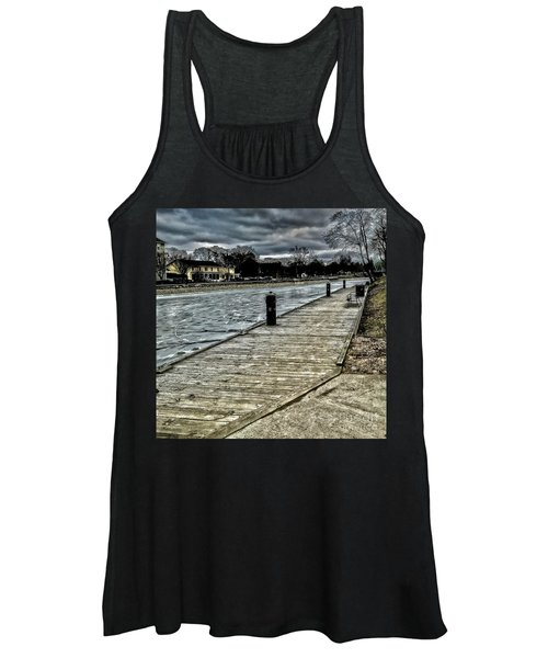 Iced Canal Women's Tank Top