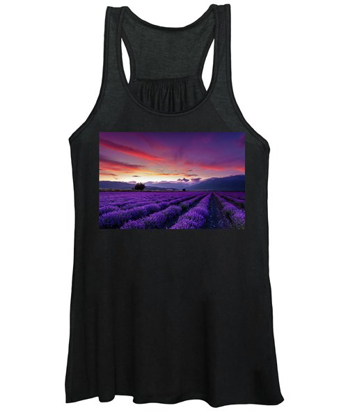 Lavender Season Women's Tank Top