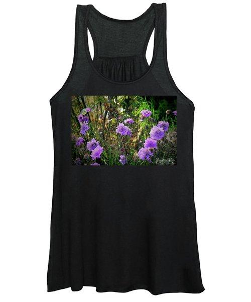 Lilac Jelly Pincushion Women's Tank Top
